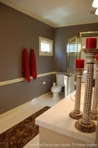 Home Staging Austin After Bath Room Picture