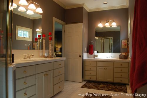 Home Stager Austin After Bath Room Picture